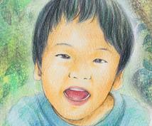手書き(主に色鉛筆)の似顔絵アイコン描きます♪