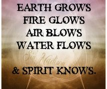 スピリット達とのコミュニケーションのコツ伝授します エレメンタル(地水火風)なスピリット・自然霊・妖精たちを知る