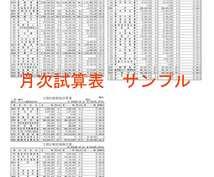 法人及び個人の月次記帳(仕訳)、試算表を作成します 現役で税理士・会計事務所勤務中の為正確な業務処理を行えます。
