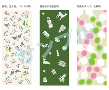 手ぬぐいのなどの和雑貨の図案を描きます 最近流行の手ぬぐい等、オリジナルの和雑貨の図案考えます!