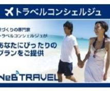 思い出に残る旅のプランニングのお手伝いをします ご希望に応じて、 航空券・ホテルの予 約、旅行手配もできます