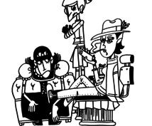 ポップで不思議なイラストを描きますます キャラクター制作や挿絵 などを求めている方にオススメです。