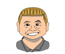 画像を元に可愛い似顔絵を描きます SNSのアイコンに。名刺のインパクトアップに。