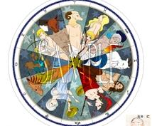 西洋占星・サビアン・アッセンブリ法で鑑定します 星座・アスペクトで言われても当たっていない感の方へ