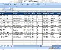 Excelで業務効率化!エクセルの資料作成します エクセルを効率的に活用したい方へ!