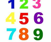 あなたの一生守ってくれる数字を見ます 運気を上げたい方!一生変わらない自分の数字が知りたい方!