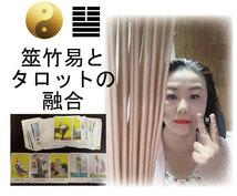 筮竹易とタロットカードで占います 当るも八卦の「筮竹易」とタロットカードで未来を占います。