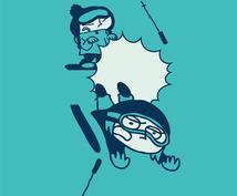 あなたを海外アニメ(カートゥーン)風に描きます!