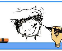 変わったアニメ動画作ります あなただけのオリジナルのホワイトボードアニメ(お試し)