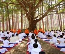 タイ・チェンマイのお寺で瞑想体験ができます 2−3日の初心者向け体験コースから修道所での本格的瞑想まで
