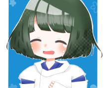 "SNS等のアイコン描きます*´ㅅ`)"""