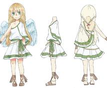 キャラクターデザイン致します TRPGや同人ゲームのキャラクターなどキャラデザプラン