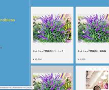 ネットショップの開設代行いたします ブログやFBより見やすく売りやすいネットショップを簡単開設☆