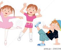 ダンスの振り付けします 子供から大人まで発表の場に合わせて♪