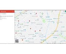 あなただけの専用地図をお作りします 営業ルートや拠点の位置把握 by google map