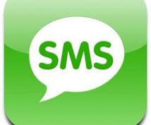 SMS認証の相談乗ります SMS認証について困っている方の相談に乗ります。