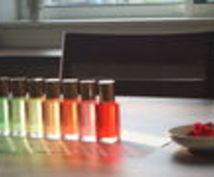 あなたの選んだ色は、あなたのココロを表します キレイなカラーボトルを通じて、あなたのココロの声を聴きます