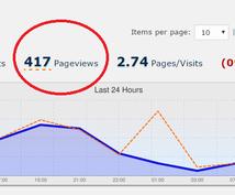 1週間1番目立つとこに表示します 月間PV10,000のサイトのトップページ一番上に掲載!!