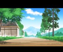 アニメ背景イラストを作成します ゲーム、アニメ背景制作のプロが作成