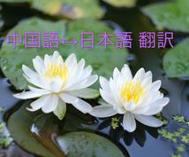 中国語  ↔︎ 日本語の翻訳&通訳します 中国語の翻訳困るあなたお手伝いいたします