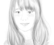 シンプルでおしゃれな似顔絵を描きます アイコンやメッセージを添えてギフトにも!