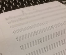 あなたの鼻歌(演奏) 楽譜に起こします ♫(五線譜バージョン)*Cメロ譜バージョンから改訂