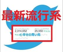 【★属性指定▶最新流行系★】TwitterアカウントでCM情報拡散宣伝PR