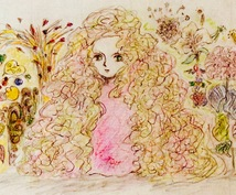 妖精アート占い*名前から浮かんだ妖精描きます ケルトの美術学校でインスピレーションを磨いたLune特製☆