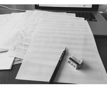 ドラムの譜面を書きます ドラムの譜面にお困りではありませんか?採譜いたします。