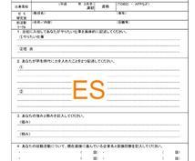 新卒採用の就活生へ、エントリーシート(ES)添削します。