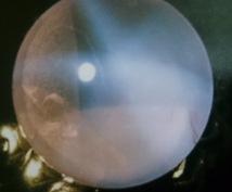 レインボー水晶とペンディラムでみます 写真*残像で答えます/イエスノーまで。