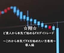 FX☆翔☆ど素人から始めるトレード方法を教えます ~これから本気でFXを始めたい方専用です~(導入編)