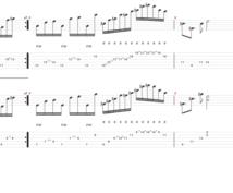 ギターのTAB譜作成と少し解説もします この曲弾きたいけど、何をどう弾いているのかわからない方向け