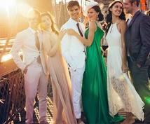 結婚式・パーティーのコーディネートをサポートします ☆★現役パーティードレススタイリストによるコーディネート★☆