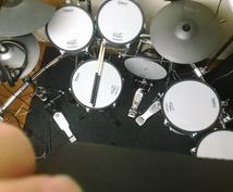 電子ドラムによる曲の録音、アレンジをします ドラムを6年間やってきました。