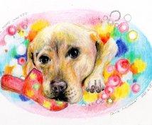 アニマルコミュニケーション☆あなたのペット描きます 知りたかったペットの気持ちや特性を絵で表現します♪