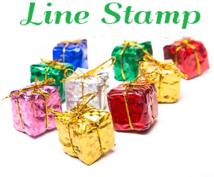 [プレゼント先の性別指定可能]LINEスタンプ購入代行 4人分用