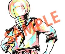 色鮮やかなアイコン描きます SNSで経験多数!絵柄、雰囲気広く対応します