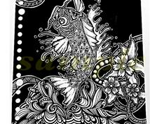 手描きデザイン・イラストを提供致します インテリア・贈り物をお探しの方!待ち受け画面やアイコンに!