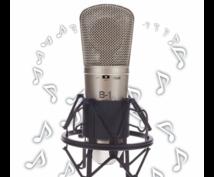 今すぐ声が欲しい方へ♪CV&ナレーション収録します 【即日対応&商用利用可】あなたのお好みの声をご提供致します!