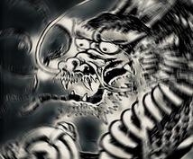 災厄や不運から身を護る魔除け付☆霊視鑑定いたします 黒龍の力をバッチリ封入、邪気を祓って良縁を引き寄せ運気アップ