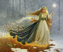 女神フレイヤのラブライトシャワーヒーリングをします あなたのオーラを輝かせ、パワフルにサポートします