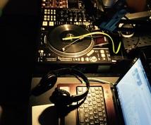 DJがあなたの用途に合わせたDJ MIXを作ります