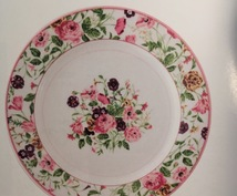 画像のポーセラーツのお皿、代行作成します ポーセラーツが面倒臭い方、時間が無い方へ。