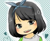 アニメイラストのような似顔絵アイコン描きます!Twitterのアイコンなどに是非ご利用ください◎