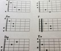 ゆずに憧れて!でもコードに挫折...ギター教えます ギターのコード表にうんざり...簡単コードで1曲マスター!