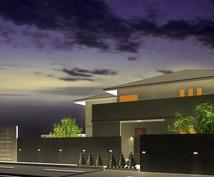 住宅や店舗の3Dパースを作成致します プレゼンパースにご利用ください。