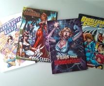 海外コミックの紹介文の翻訳・購入時の英語サポート等いたします