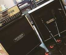 リアンプ(ギター、ベース)で本物の音に仕上げます 宅録で物足りなさを感じるギタリスト、ベーシストには必見!!