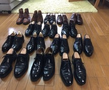 靴磨きます 靴は好きだけど、お手入れの時間がない方。